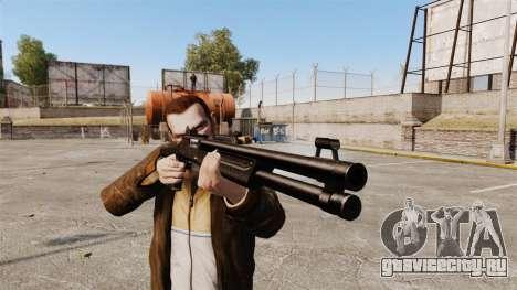Тактический дробовик Fabarm SDASS Pro Forces v1 для GTA 4 третий скриншот