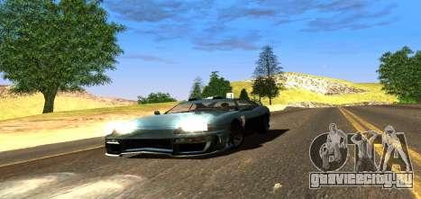 ENB Graphic Mod для GTA San Andreas пятый скриншот
