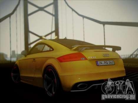 Audi TT RS 2013 для GTA San Andreas вид слева