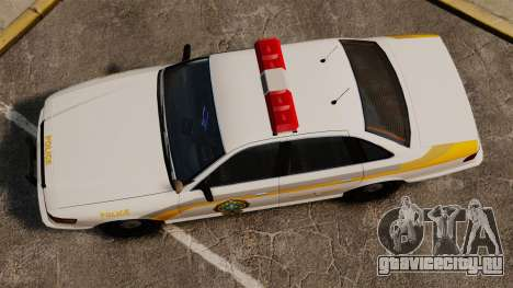 Полиция Квебека для GTA 4 вид справа