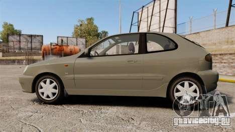 Daewoo Lanos FL 2001 для GTA 4 вид слева