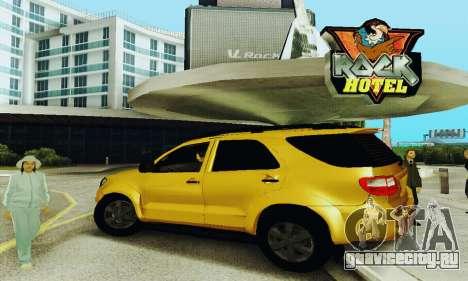Toyota Fortuner Original 2013 для GTA San Andreas вид слева