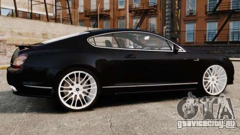 Bentley Continental GT Imperator Hamann EPM для GTA 4 вид слева