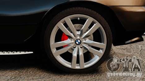 BMW X5 4.8iS v1 для GTA 4 вид сзади