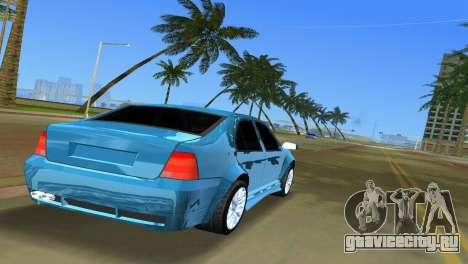 Volkswagen Bora для GTA Vice City вид сзади слева