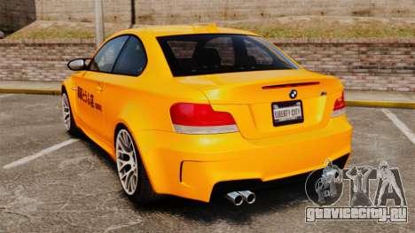 BMW 1M Coupe 2011 Fujiwara Tofu Shop Sticker для GTA 4 вид справа