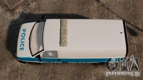 LCPD Police Van для GTA 4 вид справа