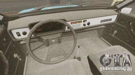 Dacia 1310 Sport v1.2 для GTA 4 вид изнутри