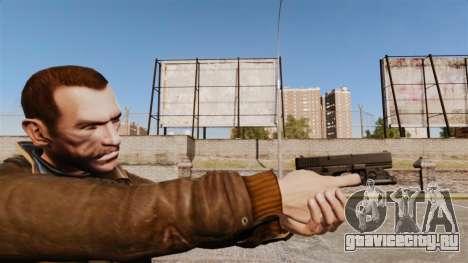 Пистолет Glock 20 для GTA 4