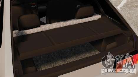 ВАЗ-2114 Бункер для GTA 4 вид сбоку