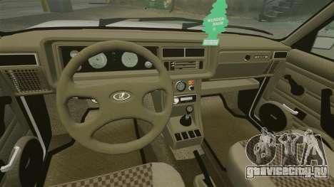 ВАЗ-2107 для GTA 4 вид снизу