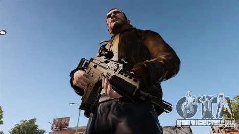 Штурмовая винтовка HK G36k для GTA 4 третий скриншот