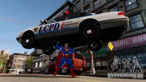 Скрипт Супермэн для GTA 4 девятый скриншот