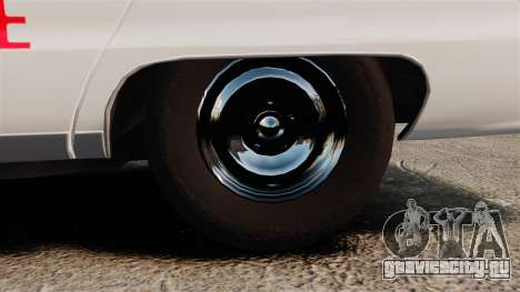 Chevrolet Caprice 1991 [ELS] v2 для GTA 4 вид сзади