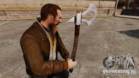 Томагавк для GTA 4