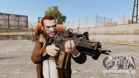 HK G36c для GTA 4 третий скриншот