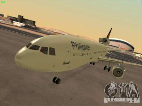 McDonell Douglas DC-10 Philippines Airlines для GTA San Andreas вид слева