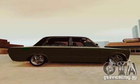 ВАЗ 2106 Зелёнка для GTA San Andreas вид слева