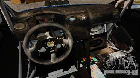 Ford Focus RS Martini WRC для GTA 4 вид изнутри