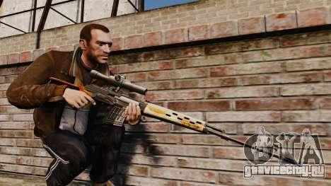 Снайперская винтовка Драгунова v4 для GTA 4