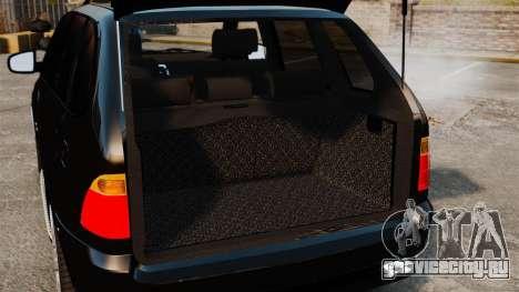 BMW X5 4.8iS v1 для GTA 4 вид сбоку