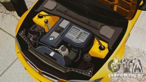 BMW 1M Coupe 2011 Fujiwara Tofu Shop Sticker для GTA 4 вид сбоку