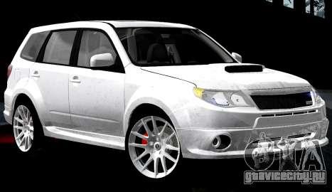 Subaru Forester RRT Sport 2008 v2.0 для GTA San Andreas салон