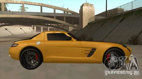 Mercedes SLS AMG Hamann 2010 V1.0 для GTA San Andreas вид сзади слева