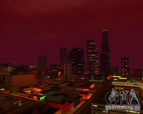 ENBSeries by MatB1200 для GTA San Andreas пятый скриншот