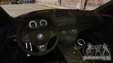 BMW 1M Coupe 2011 Fujiwara Tofu Shop Sticker для GTA 4 вид сзади слева