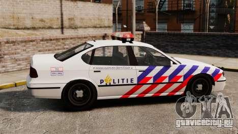 Полиция Голландии для GTA 4 вид слева