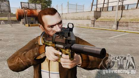 Бельгийский пистолет-пулемёт FN P90 v5 для GTA 4 третий скриншот