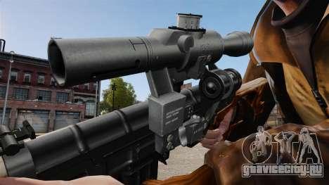Снайперская винтовка Драгунова v4 для GTA 4 четвёртый скриншот