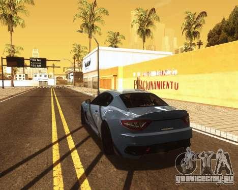 ENB for low PC v2 для GTA San Andreas третий скриншот