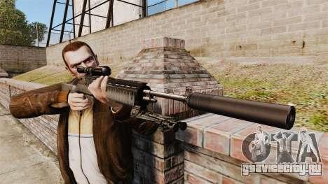 Снайперская винтовка M21 v1 для GTA 4 третий скриншот