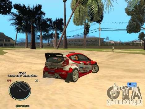 Ford Fiesta RS WRC для GTA San Andreas вид слева
