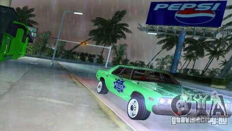 Dodge Monaco Police для GTA Vice City вид сзади
