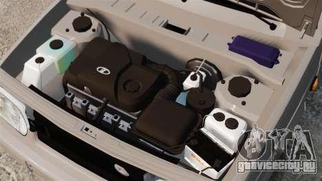 ВАЗ-2114 Бункер для GTA 4 вид изнутри