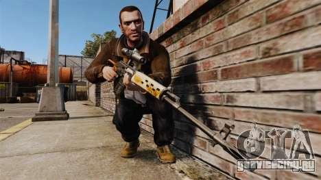 Снайперская винтовка Драгунова v4 для GTA 4 третий скриншот