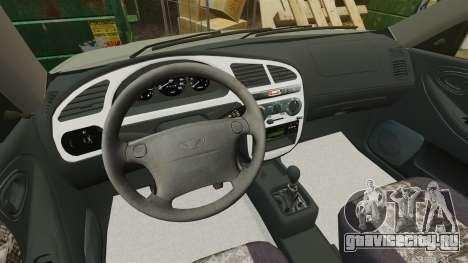 Daewoo Lanos FL 2001 для GTA 4 вид сбоку
