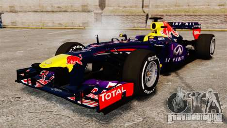 Болид Red Bull RB9 v4 для GTA 4
