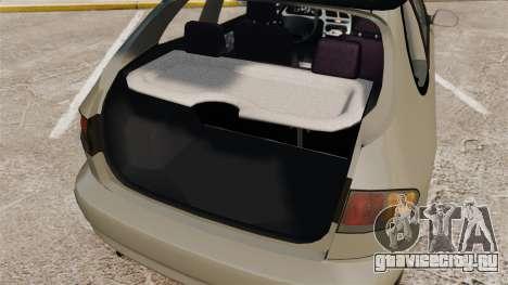 Daewoo Lanos FL 2001 для GTA 4 вид сверху
