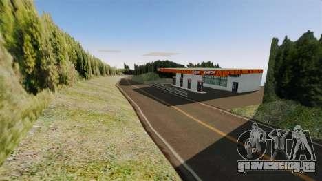 Новая локация Hakone для GTA 4 шестой скриншот