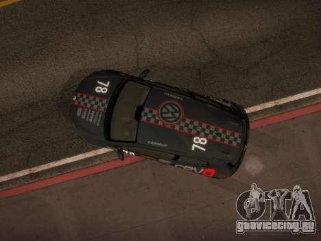 Volkswagen Scirocco для GTA San Andreas двигатель