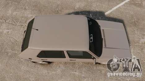 Volkswagen Citi Golf Velociti 2008 для GTA 4 вид справа