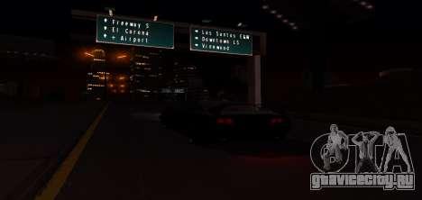 ENB Graphic Mod для GTA San Andreas восьмой скриншот