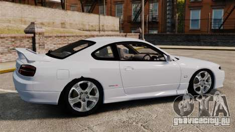 Nissan Silvia S15 v1 для GTA 4 вид слева