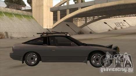 Nissan 240SX Rat для GTA San Andreas вид сзади слева