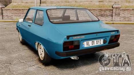 Dacia 1310 Sport v1.2 для GTA 4 вид сзади слева