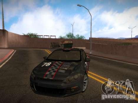 Volkswagen Scirocco для GTA San Andreas салон